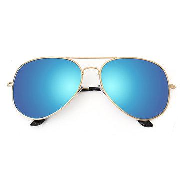 Men Retro Sunglasses Sports Polarized Fishing Golf Blue Lens Glasses
