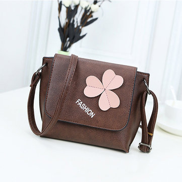 Women Stylish Flower Pattern Decorational Shoulder Bag Crossbody Bags