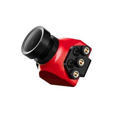Foxeer Arrow Mini Pro 2.5mm 650TVL WDR FPV Camera Built-in OSD With Bracket NTSC/PAL Black/Red