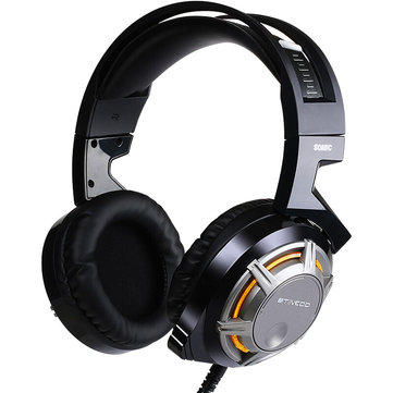 SOMiC G926 USB Wired LED Light Gaming Headphone HiFi Headset with Microphone