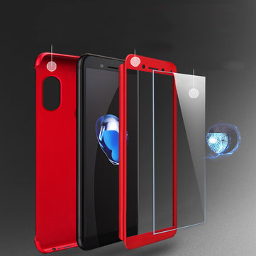 Bakeey™ 2 in 1 Double Dip 360° Full Protection PC With Screen Protector for Xiaomi Redmi Note 5