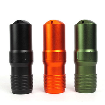 Outdoor Survival CNC Waterproof Pill Case EDC Aluminum Seal Canister Emergency Container
