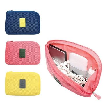 Honana HN-B16 Multifunctional Fashion Travel Storage Bag Digital Cable Earphone Holder Organizer