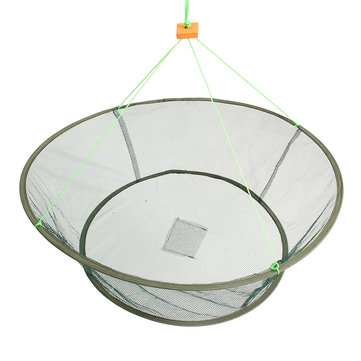 ZANLURE Foldable Fishing Net Prawn Bait Minnow Crab Shrimp Drop Harbour Pond Mesh