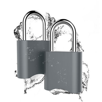 APP Bluetooth Password Lock Waterproof Android iOS System Anti-Theft Security Padlock USB Charging
