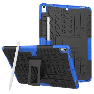 Heavy Duty Heat Dissipation Kickstand Textured Case For iPad Pro 10.5