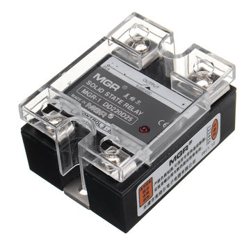 DD220D25 25A Single Phase Solid State Relay SSR DC To DC Controller 3-32V 5-220V