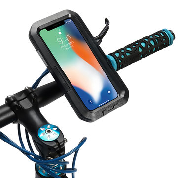 IPX8 Waterproof Bike/Bicycle Handlebar Holder Protective Case For iPhone X