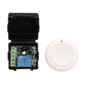 12V 1 Channel 1CH Intelligent Learning Remote Control Switch Wireless Modification Free Stickers Button Transmitter