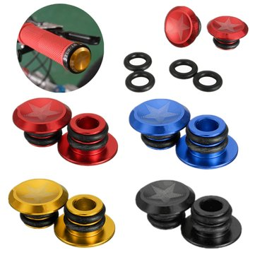 1 Pair of Cycle Road MTB Bike Handlebar End Lock On Plugs Bar End Grips Caps Covers