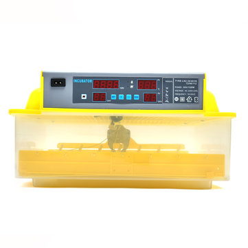 110V 56 Automatic Egg Incubator Digital Hatching Poultry Chicken Temperature Control US/EU/UK Plug