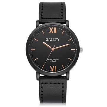 Luxury Casual Leather Strap Business Style Quartz Watches