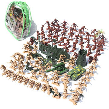 105pcs/Set Medieval Knights Warrior Model Toy Soldiers Figure Models Kid Gift