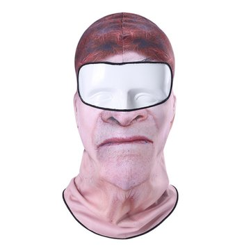 Clown Face Mask Printing Balaclava Neck Hood Multipurpose Hat For Skiing Motorcycle Cycling Party