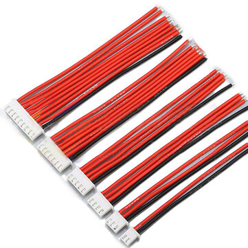 2.54XH 22AWG 13CM 1S 2S 3S 4S 6S 8S Balance Cable Silicone Wire for Lipo Batteries