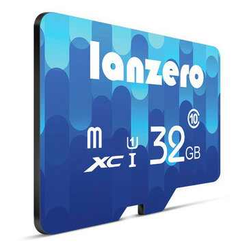 Lanzero 8GB 16GB 32GB 64GB Class 10 High Speed TF Card Flash Memory Card for Mobile Phone GPS Tablet