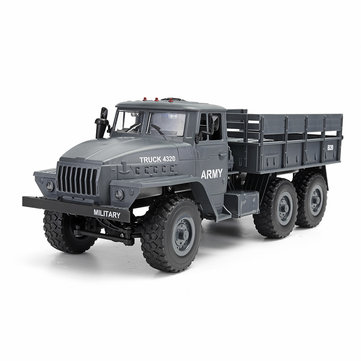 MZ YY2004 2.4G 6WD 1/12 Military Truck Off Road RC Car Tracks Crawler 6X6 Toys