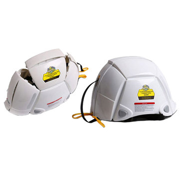 Foldable PP+PE+ABS Resin Helmet Disaster Prevention Emergency Helmet Protection Head