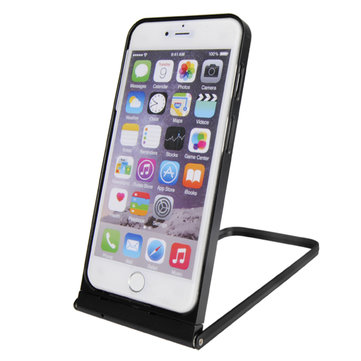 R-just 360 Angle Rotation Self Timer Monopod Metal Frame Holder Case For iPhone 6Plus 6S Plus