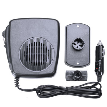 12V Warm Air Blower Car Heater Fan Defroster Demister Heating Device Universal
