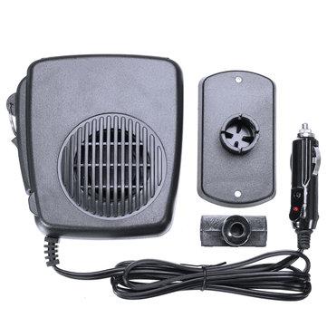 12V Warm Air Blower Car Heater Fan Defroster Demister Heating Device Universal