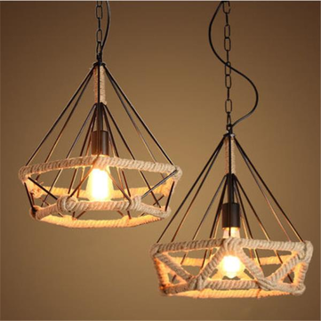 E27 Industrial Retro Loft Ceiling Light Chandelier Pendant Lamp for Bedroom Restaurant Corridor