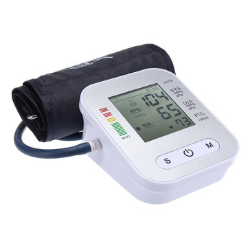 Full-automatic Blood Pressure Monitor Easy Operate Digital Arm Type Presion Health Care