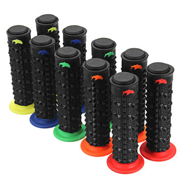 7/8inch 22MM Anti-slip Rubber Motorcycle Motorcross Handlebar Hand Grips Fit Dirt Pit Bike