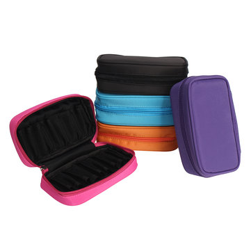 10 Position Essential Oil Storage Carrying Case Holder Bag for Traveling 10ml/15ml