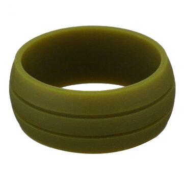 8.5MM Trendy Colorful Environmental Silicone Ring Casual Unisex Wholesale Gift for Men for Women