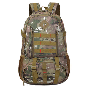 Men 50L Oxford Large Capacity Camouflage Outdoor Climbing Travel Backpack