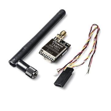 Eachine TX801 5.8G 72CH 0.01mW 5mW 25mW 50mW 100mW 200mW 400mW 600mW Switched AV VTX FPV Transmitter