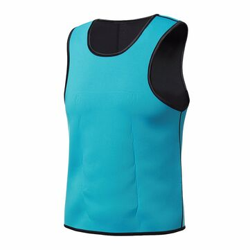 Men Neoprene Double Sided Slimming Shaperwear Sweat Vest Body Shaper Corset Waist Trainer