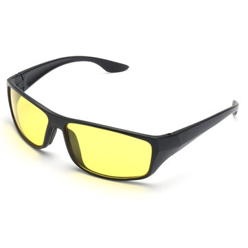 Suleve™ G01 Unisex Night Driving Glasses Anti Glare Night Vision Driver Safety UV Protection Sunglasses