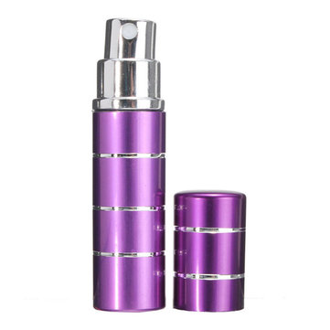 7 Colors Empty Refillable Atomiser Bottle Perfume Aluminum Container Travel 5ml