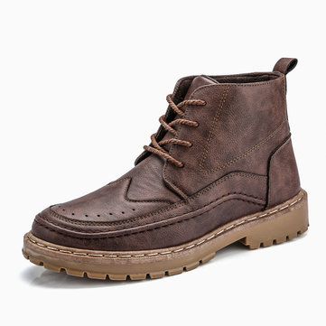 Men Big Size Hiking Boots