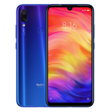 Xiaomi Redmi Note 7 Global Version 6.3 inch 4GB RAM 64GB ROM Snapdragon 660 Octa core 4G Smartphone - Blue(EU Charger)