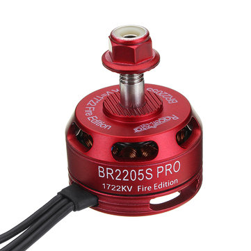 Racerstar 2205 BR2205S PRO Fire Edition 1722KV Brushless Motor 4-6S For FPV Racing RC Drone