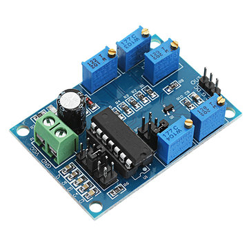 ICL8038 Signal Generator Medium/Low Frequency 10Hz-450KHz Triangular/Rectangular/Sine Wave Generator Module 12V To 15V