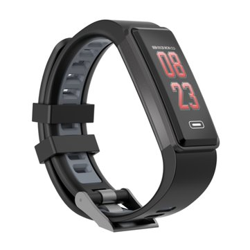 Bakeey G23 Blood Pressure Oxygen Heart Rate Monitor Remote Camera Music Sport Smart Wristband