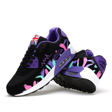 Women's Casual Sneakers Outdoor Shock Absorption Air Cushion Breathable Shoes