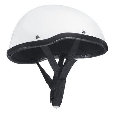 Half Face Helmet Skull Baseball Cap Safe Hard Motorcycle Scooter Riding