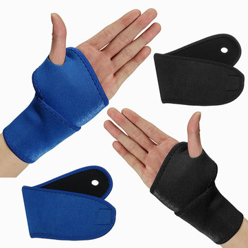 Sports Adjustable Wrist Palm Wrap Guard Band Neoprene Brace Support Gym Sprain Strain Strap