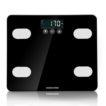 Tempered Glass Electronic Scale Digital Body Fat Analyser Scale BMI Heathy Scale