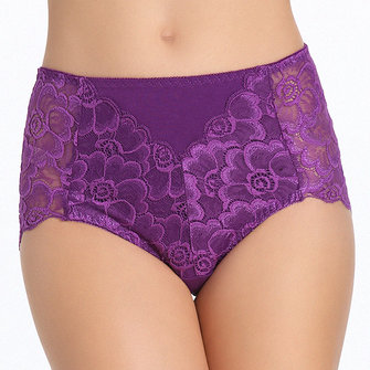 Sexy Mid Waist Breathable Underwear