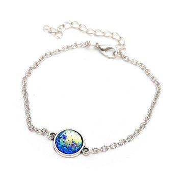 Fashion Resin Mermaid Sweet Fish Scale Bracelet Anklet for Women