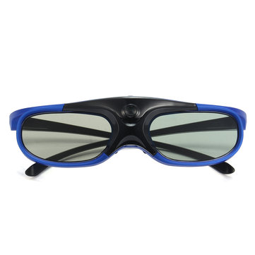 DLP-Link 3D Projector Active Shutter Glasses Rechargeable Battery Powered