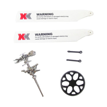 XK K110 K120 V977 Upgraded Main Rotor Head Set Assembly