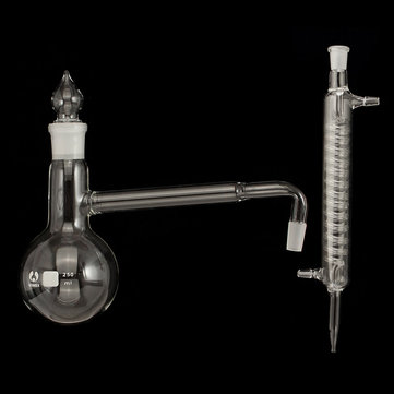 250ml Distillation Apparatus Lab glassware kit Distillation Kit