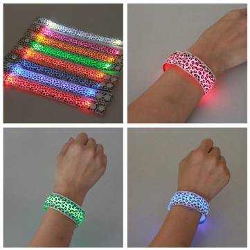Reflective LED Wrist Armband Belt Flashlight-strap Motorcycle Cycling Outdooors
